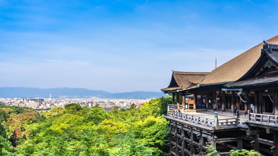 世界遺産【清水寺】「清水の舞台」のことわざで有名で、京都観光に欠かせないお寺です。