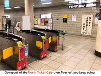 丸太町駅からSTAYまで経路1