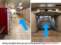 丸太町駅からSTAYまで経路2