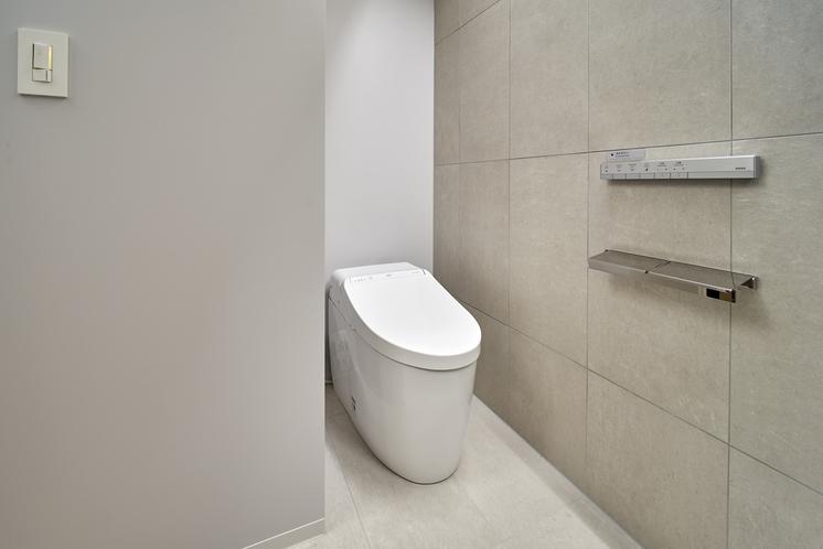 シングルベッドルーム トイレ(10F)