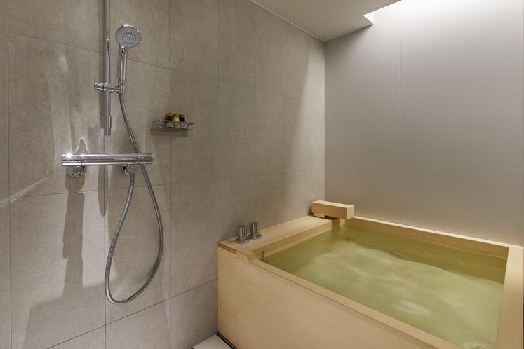 デラックスツインベッドルーム 〈檜風呂付〉