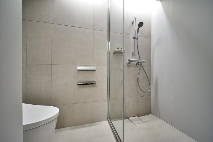 シングルベッドルーム シャワールーム(10F)