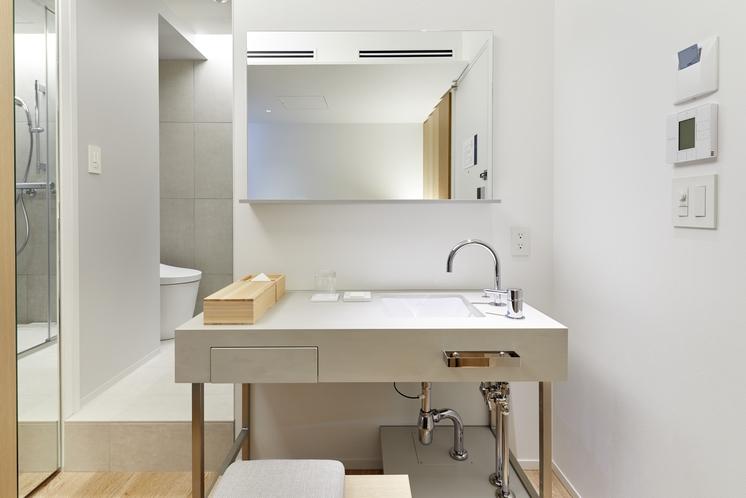シングルベッドルーム 洗面所 (10F)