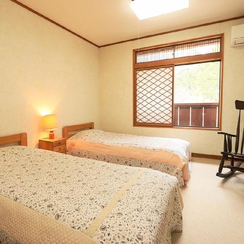 客室一例◆洋室*お部屋タイプは当館のおまかせとなります。ご指定はできませんので予めご了承ください。