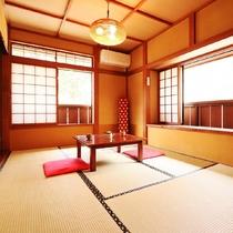客室一例◆和室*お部屋タイプは当館のおまかせとなります。ご指定はできませんので予めご了承ください。