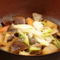 *夕食一例◆しし鍋*10月~4月が旬です