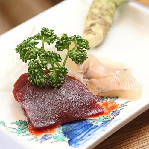 *夕食一例◆刺身