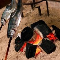 *炉端焼き◆囲炉裏の醍醐味を味わう