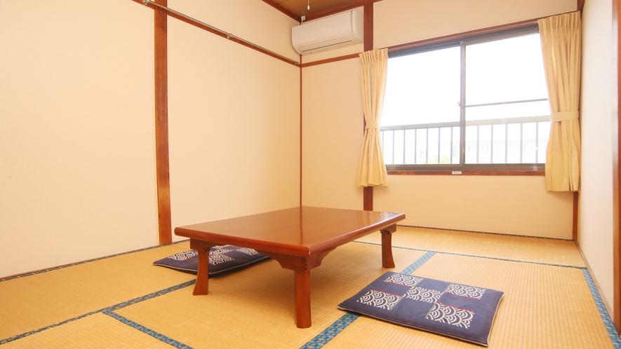 日当たりの良い和室です。