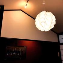 2階客室内の照明