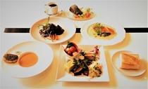 食事付き宿泊プランの料理例(ディナーコース)