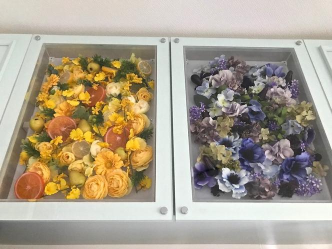 お花がいっぱいの扉♡