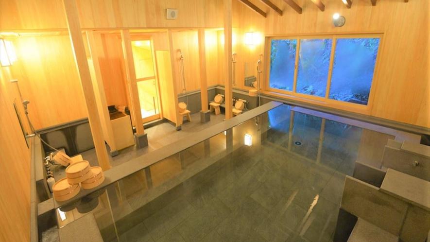 【大浴場】古くは万葉集にも詠まれた良質の温泉「湯河原温泉」