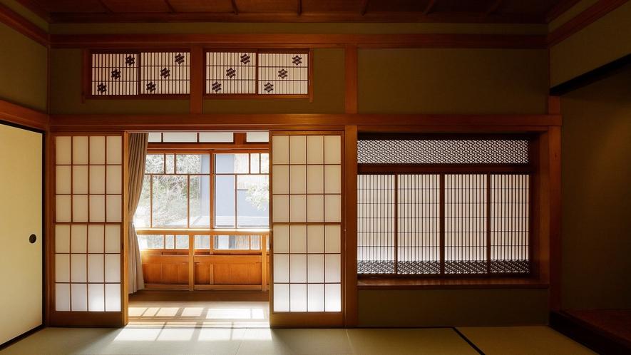 【登録有形文化財 温泉檜風呂付】旧館 和室 2名