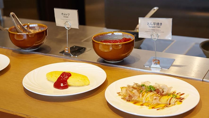 朝食料理実演イメージ