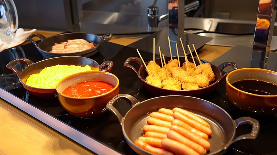 朝食イメージ  大阪名物「串カツ」もご賞味ください