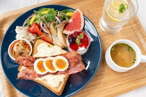 朝食新メニュ!ARK BLUE Cafe特選トースト☆(2/10から提供いたします)