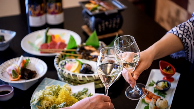 【アニバーサリープラン】お誕生日、記念日に<スパークリングワイン or ホールケーキ>選べる特典付き