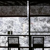 白銀の松川渓谷