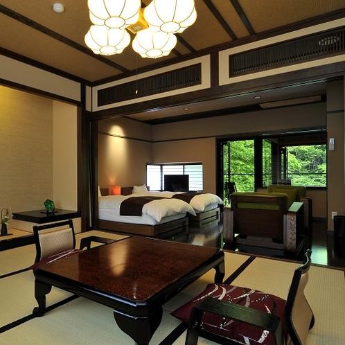 【藤】松川渓谷の夏を、ひんやり気持いい畳のお部屋で満喫