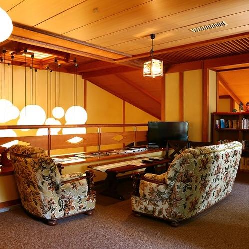 談話室では旅行の情報収集もできます
