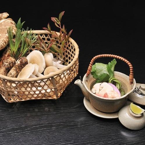 秋の王様「松茸」の香りを味わい尽くす