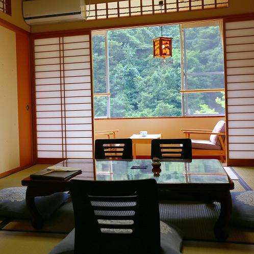 【青嵐】松川渓谷の夏の静寂を楽しむ畳のお部屋