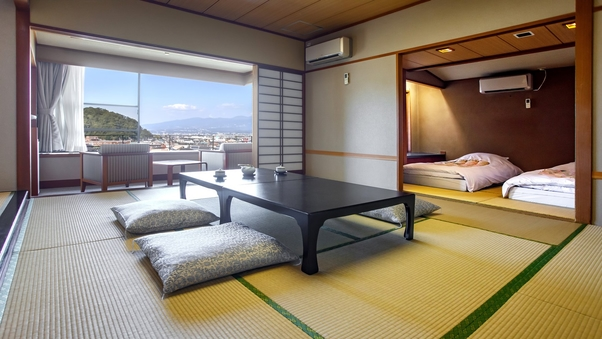 富士山を眺めるスーペリアリラックスモダン和室(57平米)禁煙