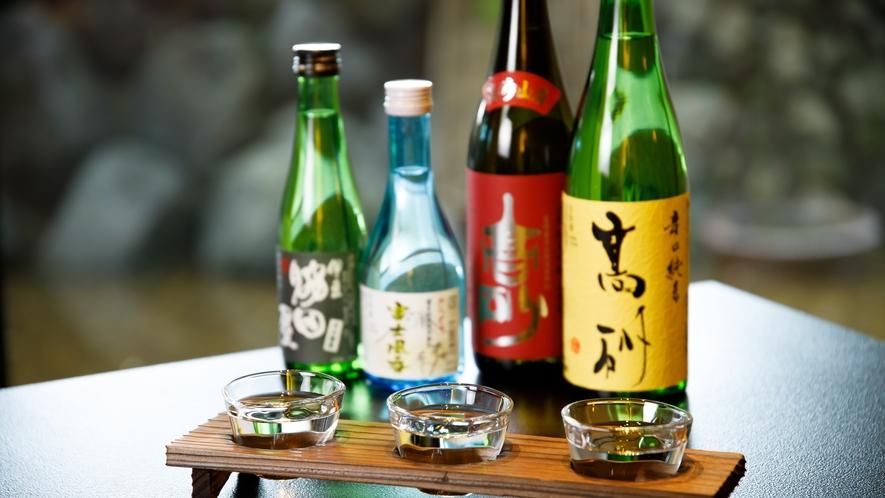 各種取り揃えた日本酒