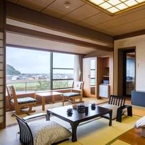 「露天風呂付客室 富士山ビュー」