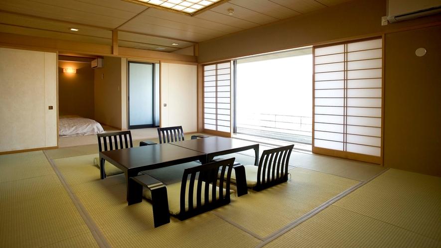露天風呂付客室 富士山ビューの広々空間(77㎡)【禁煙】