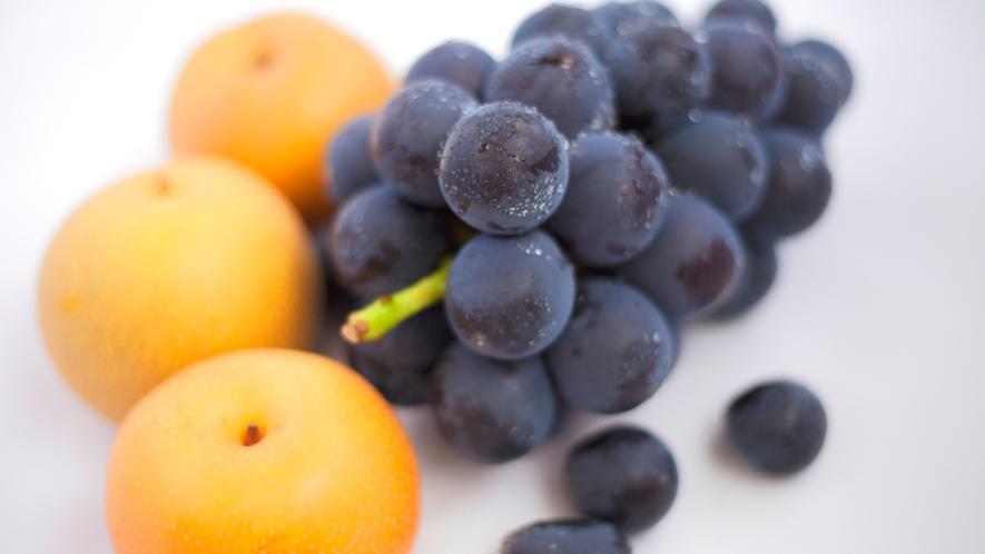 【体験】収穫した梨とブドウ♪時期により体験内容が変わります