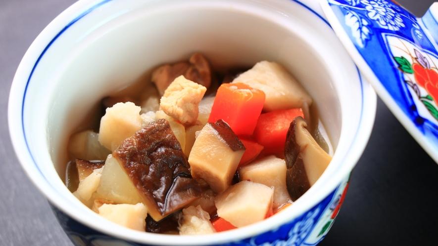 【夕食一例】のっぺい汁。冬の根菜がたくさん!