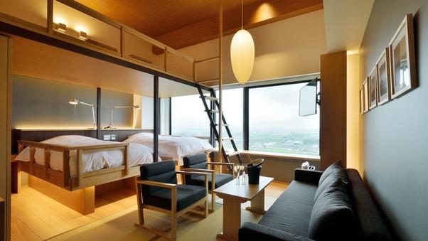 デザイナーズフォースルーム/二段ベッド
