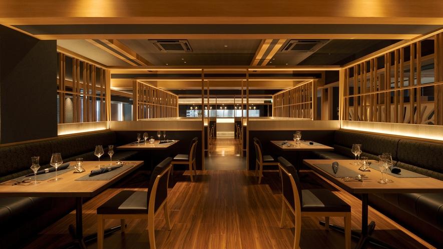 レストラン「THE MILESTONE」