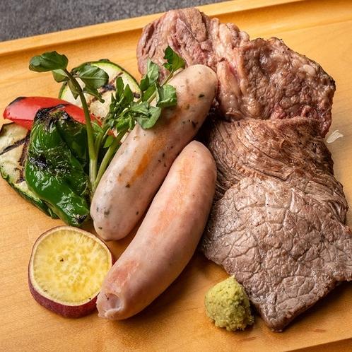 多彩なお肉のライブグリル