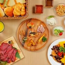 和洋30種類以上の朝食をご用意■洋食ブッフェイメージ