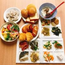 朝食は6時30分から営業しております■和洋ブッフェイメージ