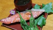 *【朝食一例】焼き魚!旅館定番の和食膳