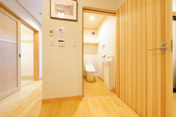 客室一例 トイレ