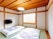 和室1~3人部屋(バス無し・トイレ無し)