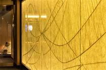 エントランス 光壁