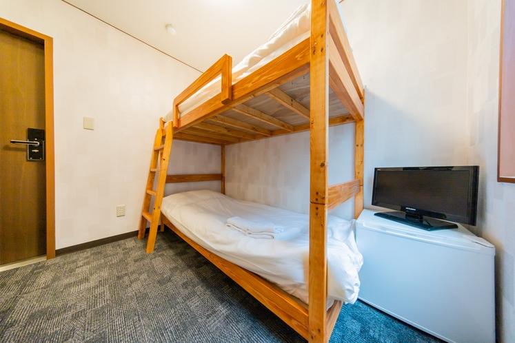 【2段ベッド×1台/シャワートイレ付】1~2名様利用