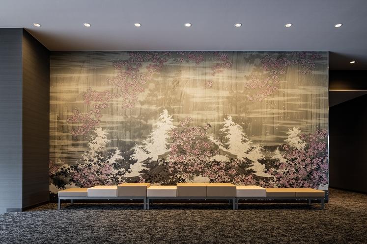 滝桜 EVホール