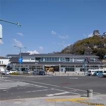 外観-尾道駅舎2階