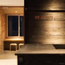 ■ホステルレセプション:尾道駅2階にございます