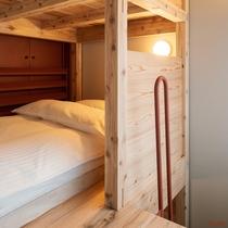 プライベートツイン2&3階ベッドスペースイメージ一例