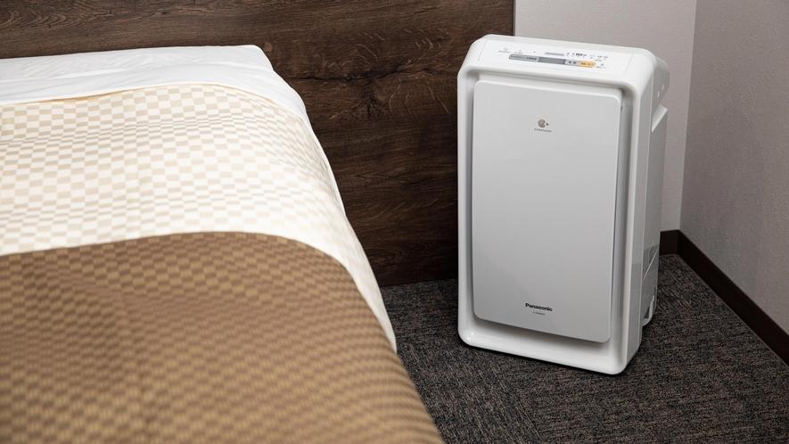 【客室設備】加湿空気清浄機