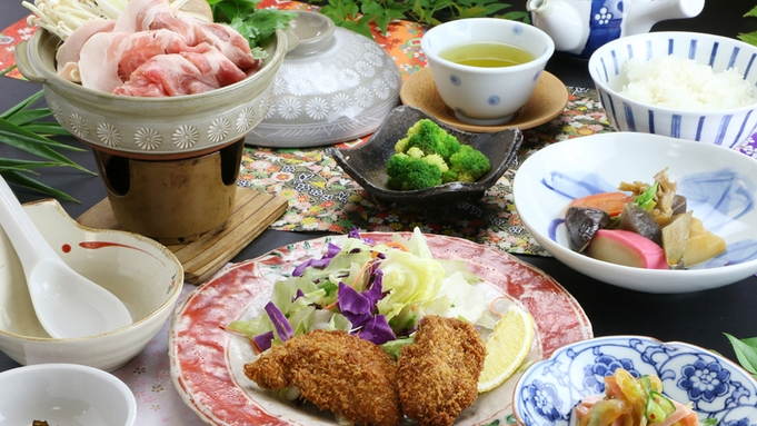 人気No.1【2食付】夕食は大満足のボリュームと家庭的な和定食☆[365日同一料金]