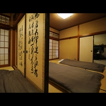 ■【客室一例・広々14畳】合宿や団体様でのご利用も歓迎致します。